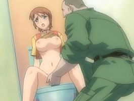 Young girl fucked on toilet by army man